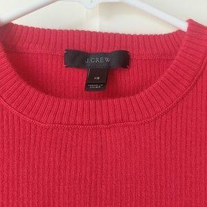 J. Crew Sweaters - JCrew ribbed crew neck sweater